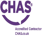 Contractors health and safety logo