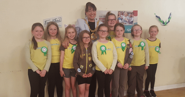 25 June 2018 - I was invited along to the 24th Sunderland (St Joseph's) Brownies as they took part in the UK Parliament Equalities Night, celebrating 90 years of voting equality.