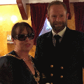 13 July 2018 - I hosted a charity Deck Party aboard the Tall Ship Sørlandet.