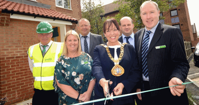 19 July 2018 - I officially opened the new Gleeson show homes at the Forge Court development on Neville Road in Pallion.
