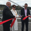 29 August 2018 - I had the amazing opportunity to open Sunderland's impressive Northern Spire bridge to traffic.