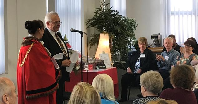 18 September 2018 - I opened the new offices of one of my chosen charities, Sunderland and County Durham Royal Society for the Blind. Since 2015 the Society has been providing support and services throughout County Durham as well as Sunderland.