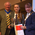 10 October 2018 - I attended Monkwearmouth Academy's Annual Awards Ceremony at the Stadium of Light. Students received an award for their achievement during the last academic year as well as delivering a performance.
