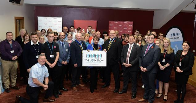 8 November 2018 - I officially opened the Job Show North East alongside the Leader of Sunderland City Council, Cllr Graeme Miller.