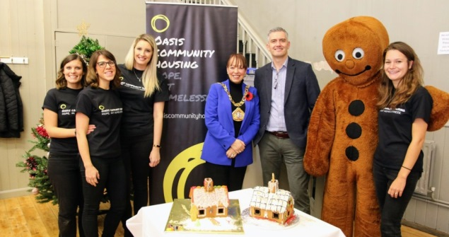 8 November 2018 - I attended the Launch of Oasis Aquila Housing's 'Giving a Home' Christmas fundraising appeal. Oasis Aquila is a homelessness charity that runs a homeless drop in centre in Sunderland City centre.
