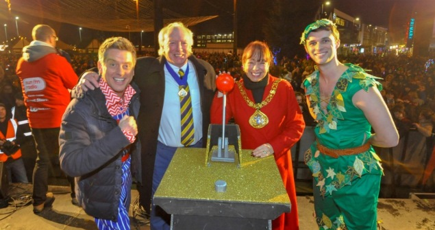 22 November 2018 - I attended the Sunderland Christmas Switch On in Keel Square.