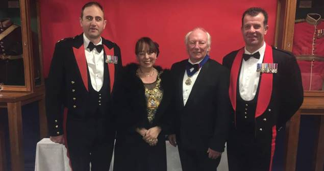 13 December 2018 - I attended the 4th Regiment Royal Artillery's boxing event.
