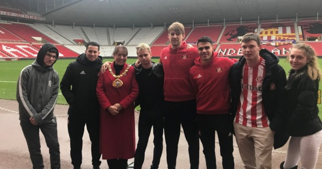 26 December 2018 - Care leavers got the chance to take in Sunderland AFC's Boxing Day fixture thanks to the generosity of others. Fifty young people were handed tickets via the Gift of Football scheme devised by Black Cats fans.