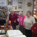 12 February 2019 (a) - The Mothers Union visited the Mayor's Parlour.