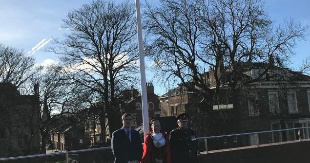 11 March 2019 - People in Commonwealth countries observe Commonwealth Day on 11 March. In Sunderland we do this by hosting a Flag Raising Ceremony.