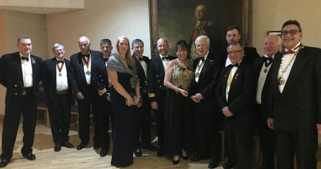 1 May 2019 - I attended HMS Anson Annual Submarine Flotilla Affiliates Dinner. The dinner was a great opportunity to network and foster our relationship with our new affiliates HMS Anson.