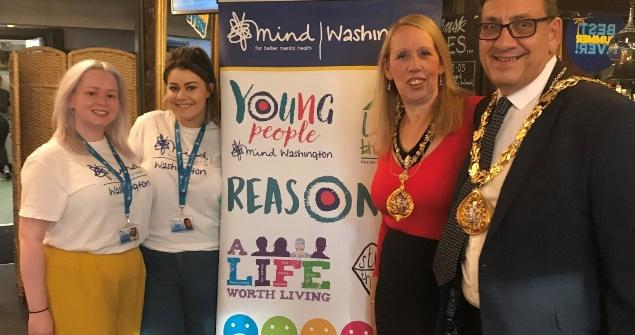 3 July 2019 - I hosted my Mayor's Charity Quiz Night at Washington Arms where £538 was raised for my chosen charities and good causes, Washington MIND and Veterans in Crisis.