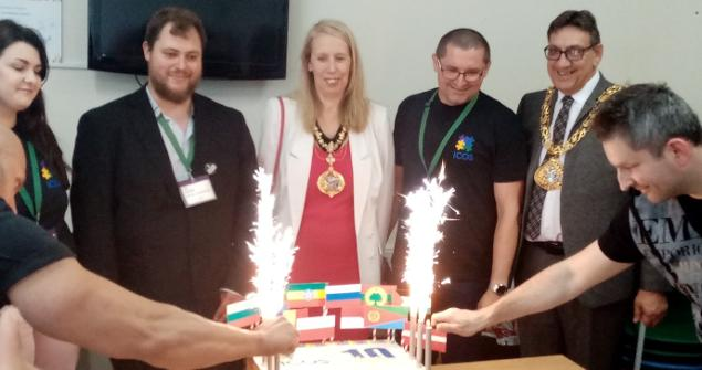 20 July 2019 - I attended St Mark's Community Association to join in the International Community Organisation of Sunderland's (ICOS) 10 Year anniversary celebrations.