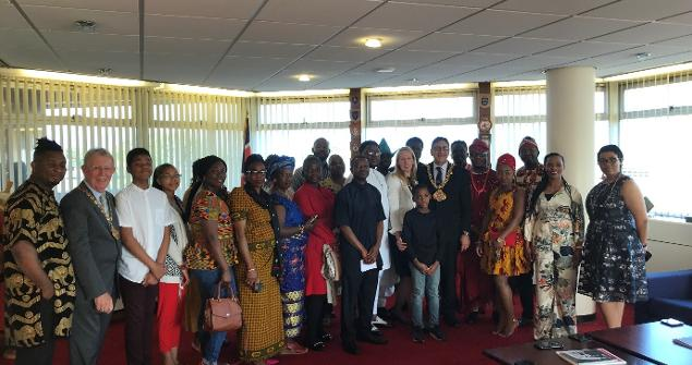 15 August 2019 - I hosted a visit from Sunderland African Association members.