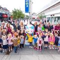 21 August 2019 (b) - Elmer's Great North Parade came to Sunderland and will be here until 10 November. Over seven individually designed Elmer the Patchwork Elephant sculptures have been placed around Sunderland.