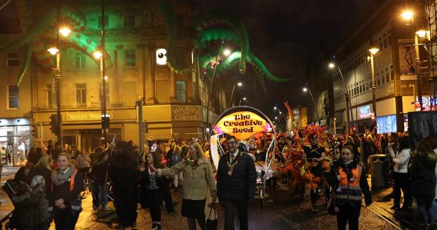 1 November 2019 (b) - Sunderland's very first Halloween Parade. What a great family event it was, a one I hope to see again in future years.