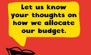 Let's Talk Budget